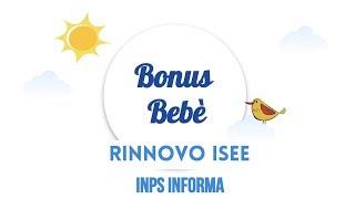 Bonus Bebe' L'INPS CI INFORMA (Mess. n. 4476 del 10/11/2017)