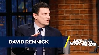 David Remnick Is Pessimistic About Trump's Presidency