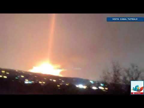 Cae Meteoro en Detroit Michigan y provoca Sismo de 2 grados Richter Video Impresionante