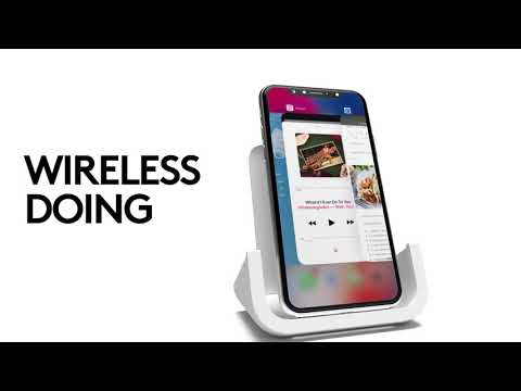 Logitech POWERED Wireless Charging Stand For IPhone 8, 8 Plus, X
