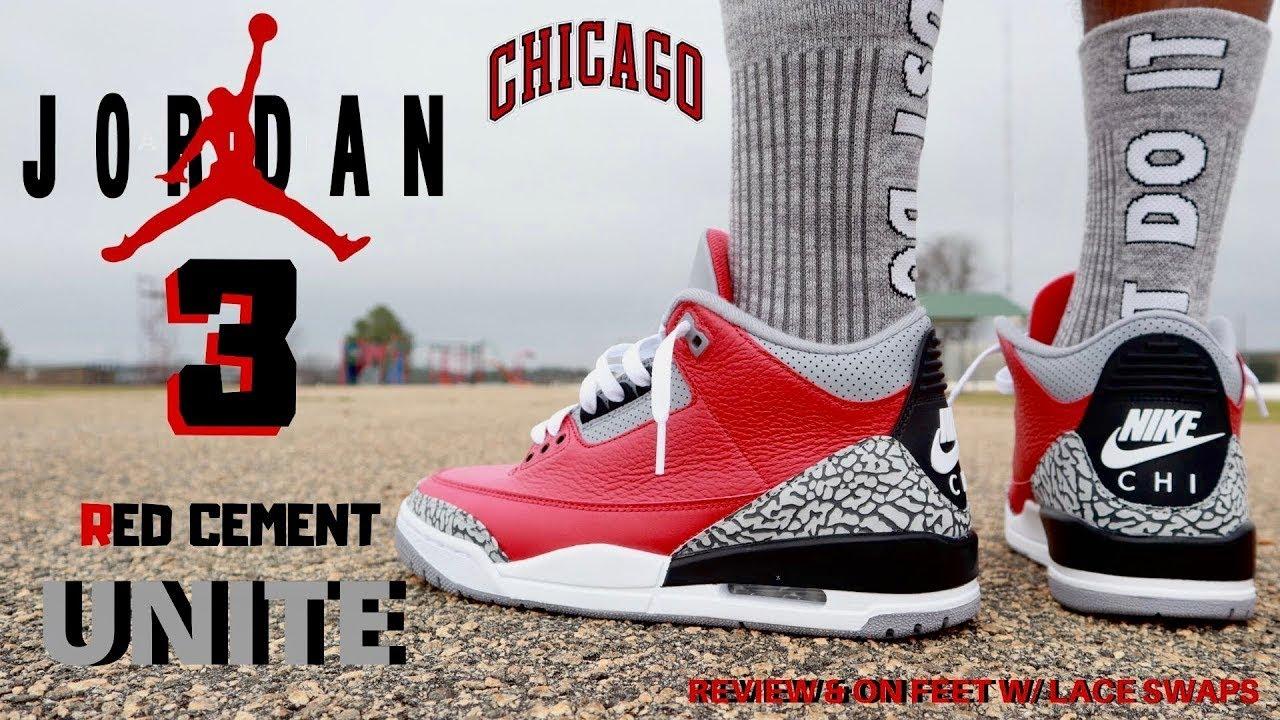 "Air Jordan 3 Retro SE ""Unite"" (Red Cement): Review & On-Feet"