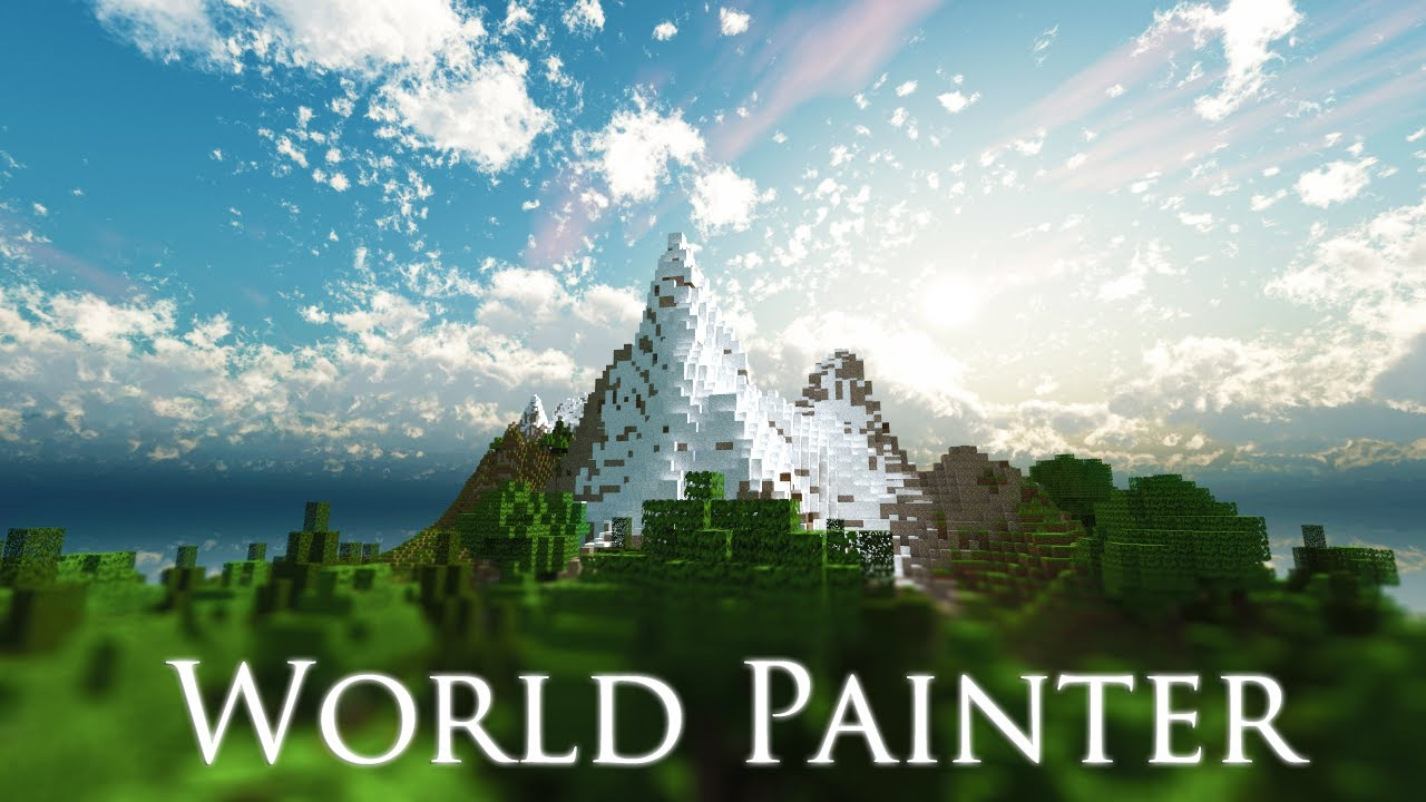 Minecraft Worldpainter Timelapse Building Map Download Youtube