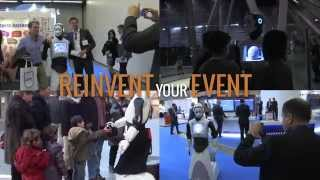 Reinvent your Event with REEM, the humanoid robot