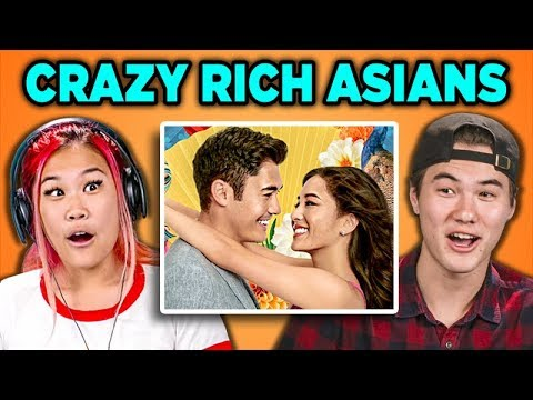 ASIAN PEOPLE REACT TO CRAZY RICH ASIANS thumbnail