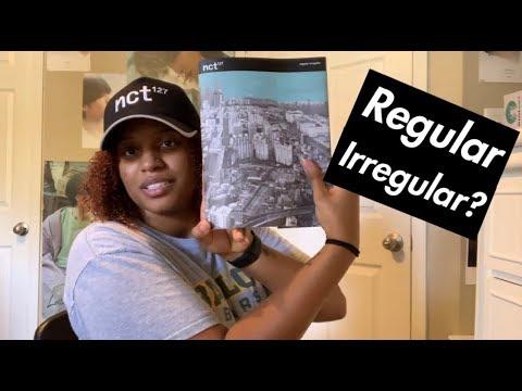 NCT 127 엔시티 127 Regular-Irregular Album Bundle Unboxing