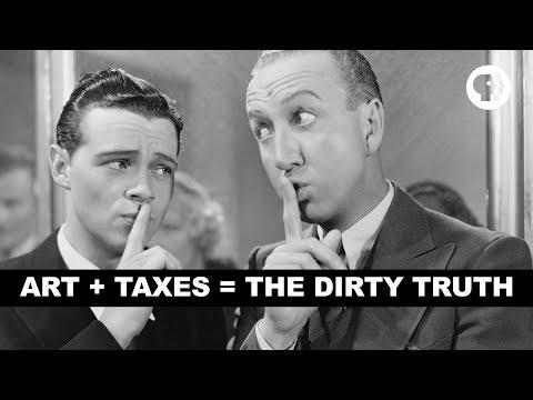 Art + Taxes = The Dirty Truth