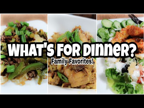 what's-for-dinner?-|-budget-friendly-family-meals-|-family-favorites!