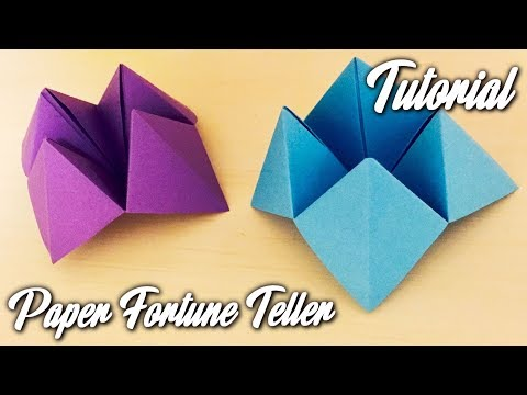 Paper Fortune Teller | EASY TUTORIAL