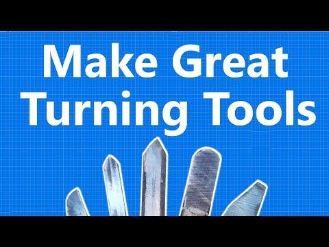 Custom tool-tips for the ultimate DIY bowl gouge