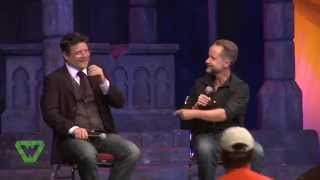 sean astin and billy boyd panel fantasy con 2014