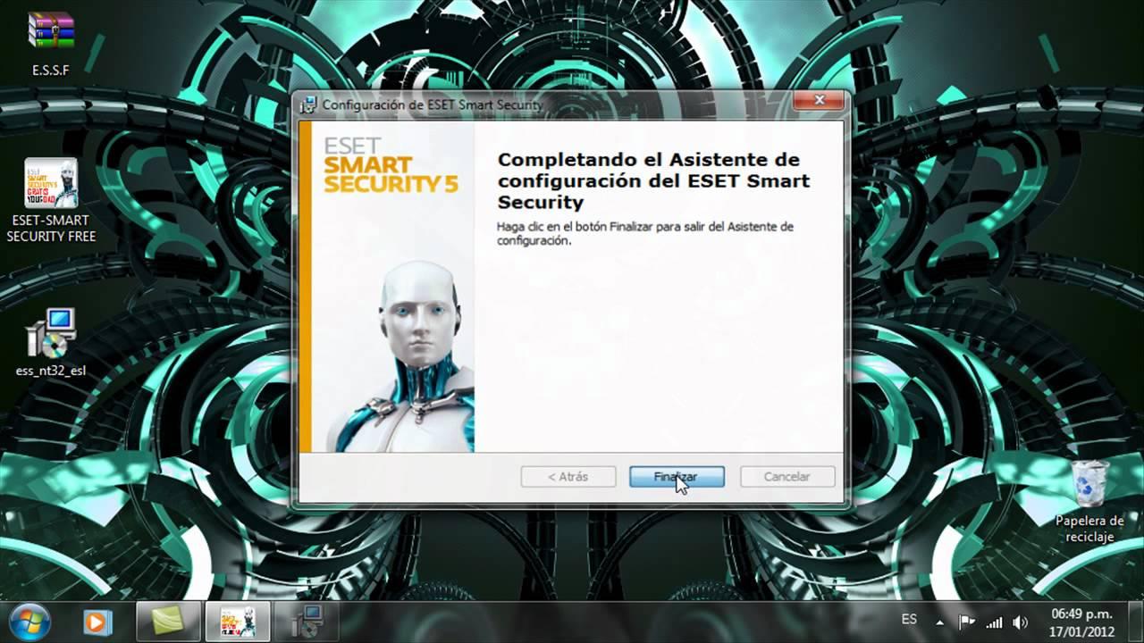 Como descargar y activar eset smart security 5 gratis 5 0 95 0 y o superior