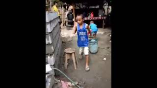 making swimming Pool @ home for kids