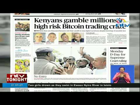 Kenyans Gamble Millions In High Risk Bitcoin Trading Craze