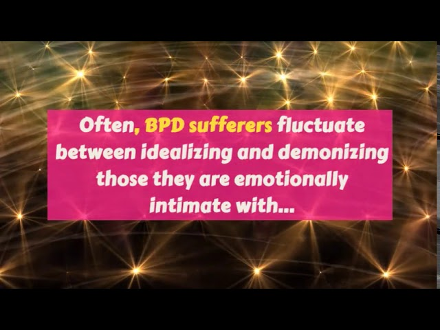 Nine Key Recovery Targets For BPD Sufferer