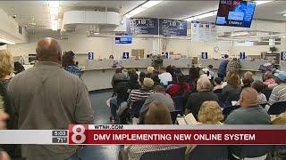 DMV implementing new online system