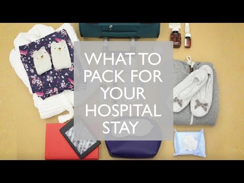 What to pack in your hospital bag | Getting treatment