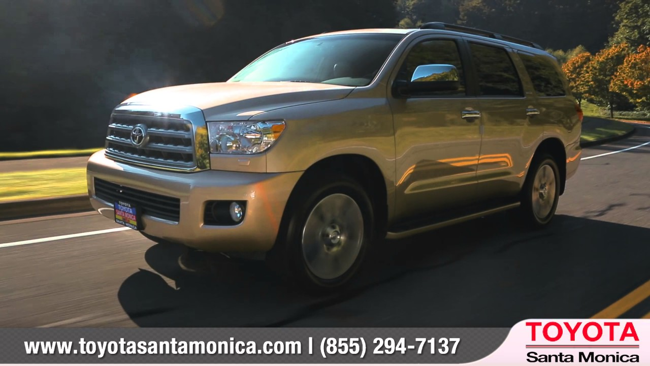 2016 Toyota Sequoia Review | Toyota Santa Monica   An LAcarGUY Dealership