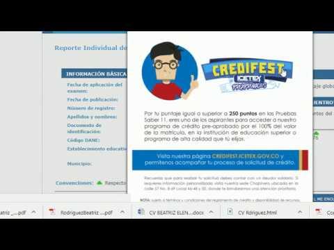 Cómo consultar los resultados del ICFES (SABER 11)