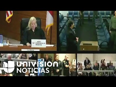Nikolas Cruz es presentado en Corte por primera vez