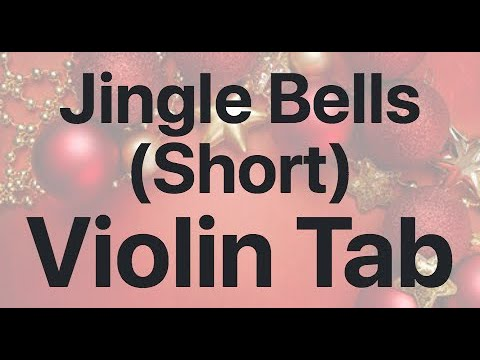 Learn Jingle Bells (Short) on Violin - How to Play Tutorial