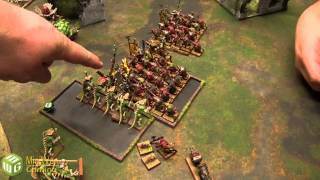 Lizardmen vs Skaven Warhammer Fantasy Battle Report - Old World Wars Ep 87