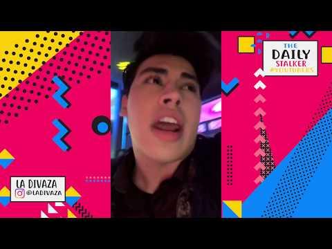 [18/01/2018] YOUTUBERS COLOMBIANOS DE FIESTA EN MEXICO - LA DIVAZA SE MAREA   THE DAILY STALKER
