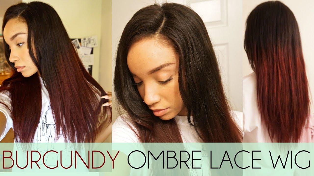 Hair Burgundy Ombre Wig Khloe Wig Update Rpgshow Youtube