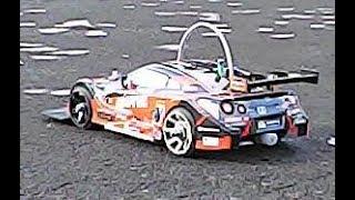 ラジコンカー 2速エンジン GT-R (改) 1/16 nissan