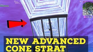 New advanced cone trick - Fortnite tips and tricks