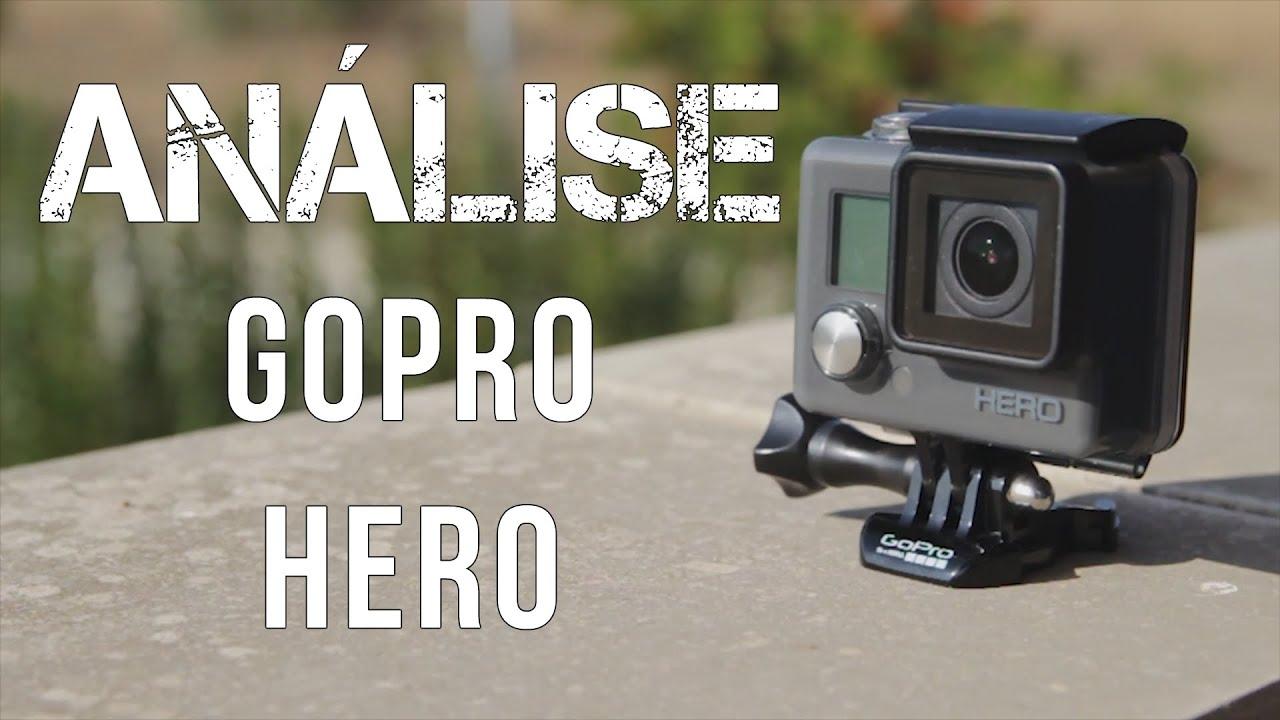 an lise gopro hero entry level portugu s youtube rh youtube com GoPro Hero Instruction Manual GoPro HD Hero Manual PDF