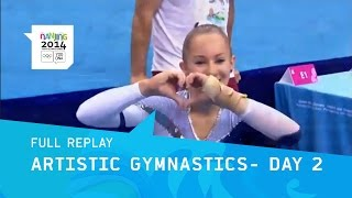 Artistic Gymnastics Qualifications Women | Full Replay | Nanjing 2014 Youth Olympic Games