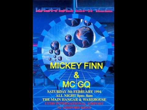 Mickey Finn & Mc GQ @ World Dance@Lydd Airport 5th February 1994