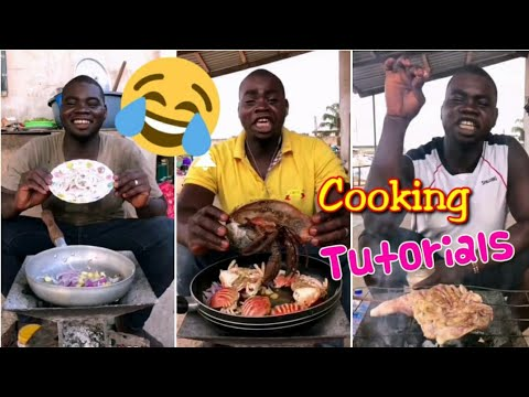 When Africans try to do cooking tutorials like Chinese. **FUNNY**