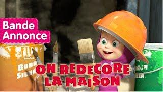 Masha et Michka - On Redecore La Maison (Bande Annonce)