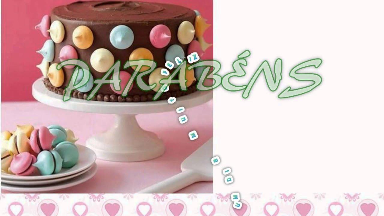 Feliz Aniversário Youtube: Feliz Aniversário Cristina