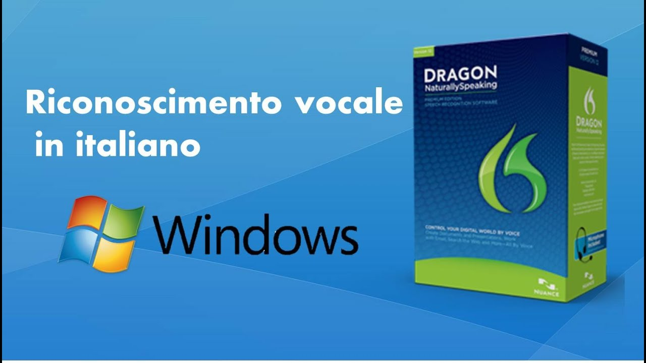 dragon naturallyspeaking 10 italiano