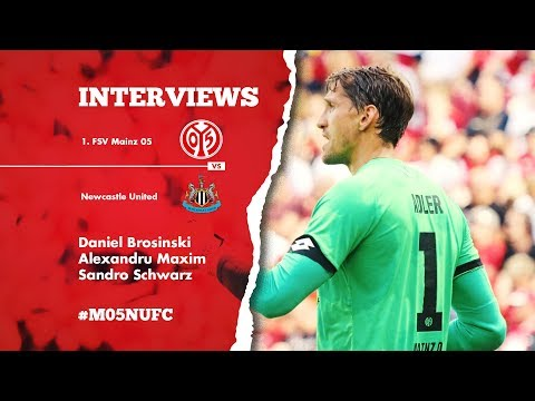 Interviews nach Newcastle | Daniel Brosinski | Alexandru Maxim | Sandro Schwarz | 1.FSV Mainz 05