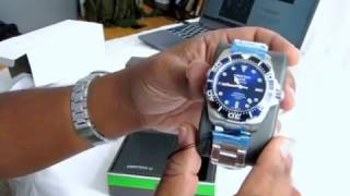Certina DS Action Diver unboxing