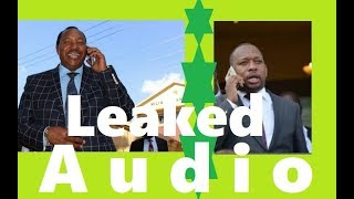 What You Missed In Leaked Audio Of Waititu Begging Sonko For Wife To Be Released