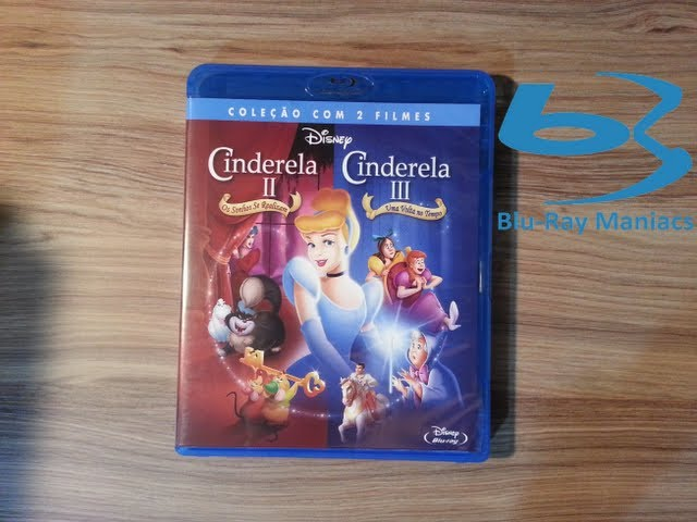 [Blu-Ray] Cinderela 2 e 3 Travel Video