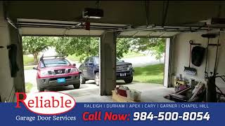Garage door rollers and spring repair | Raleigh, NC