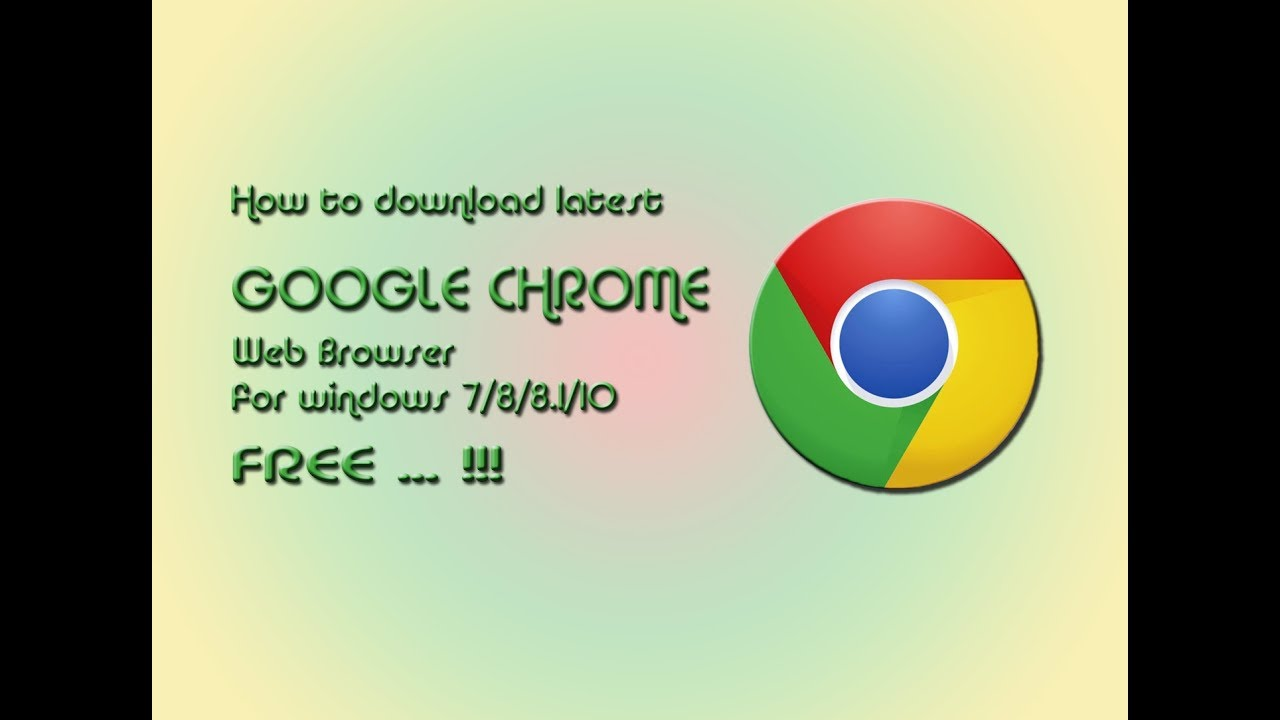 free downloads google chrome for windows xp
