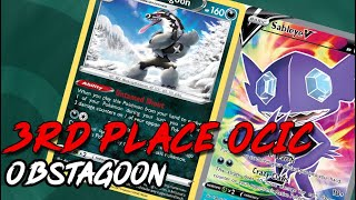 3rd place Oceania Internationals/ Obstagoon deck analysis and gameplay (Pokemon TCG Online)