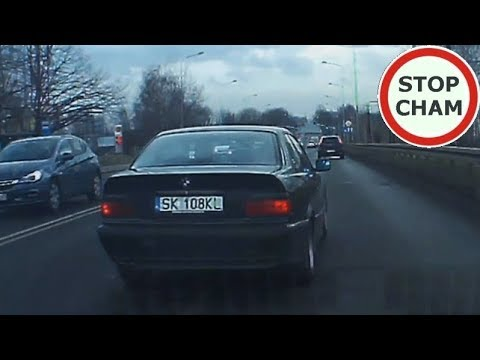 Zajeżdżanie drogi podczas wyprzedzania czyli kompleksy kierowcy BMW #64 Wasze Filmy
