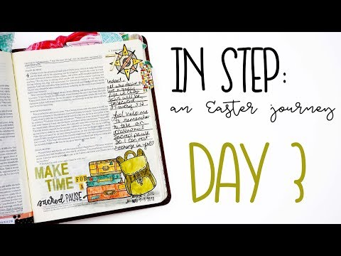 BTW4G In Step: An Easter Journey | Day 7