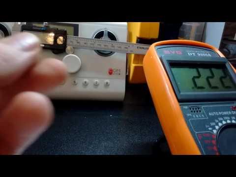 LR44 batteries and digital calipers