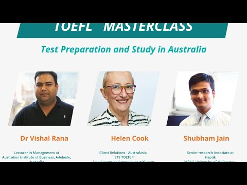 TOEFL MasterClass - Test Preparation and Study in Australia [ForeignAdmits]