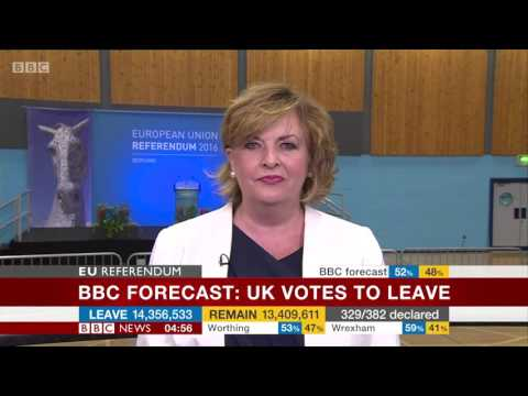 EU Referendum - immediate reaction from Chuka, Isabel and others