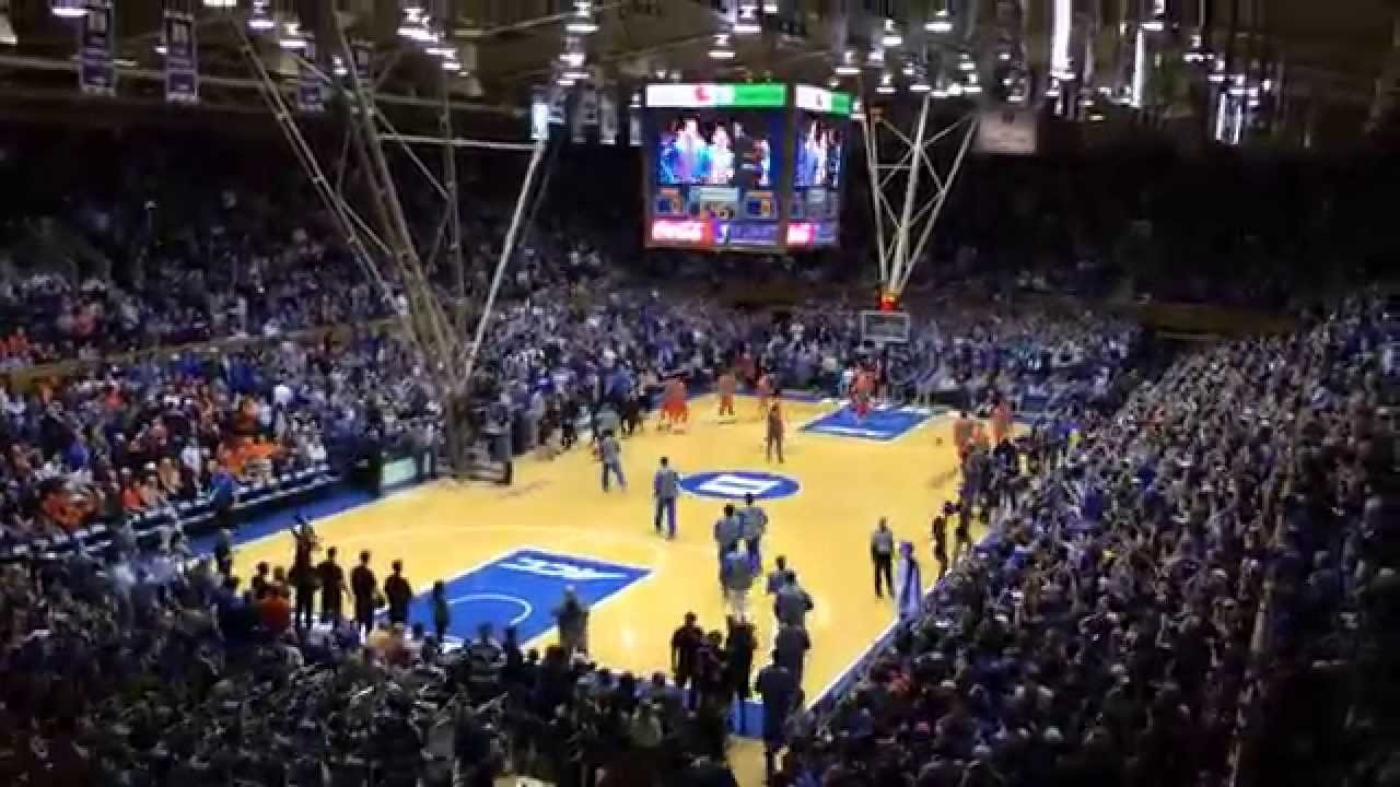 Here Comes Duke Entrance At Cameron Indoor Stadium