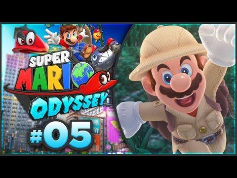 Super Mario Odyssey - Wooded Kingdom 100% Walkthrough! [Part 5]
